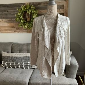 NWT PEEK Open Knit Cardigan